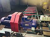 Двухпильний кромкообрізний верстат (пристрій поздовжньо-распиловочное), автоматична подача, фото 2