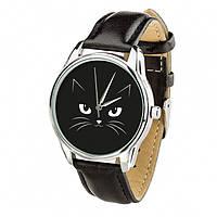 Часы Ziz Кошачий с дополнительным ремешком, ремешок насыщенно-черный SKL22-228875