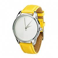 Часы Ziz Минимализм, ремешок лимонно-желтый, серебро и дополнительный ремешок SKL22-142865