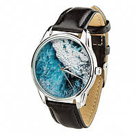 Часы Ziz Океаническая волна с дополнительным ремешком, ремешок насыщенно-черный SKL22-228881