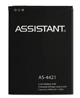 Аккумулятор (Батарея) для Assistant AS-4421 (2000 mAh)