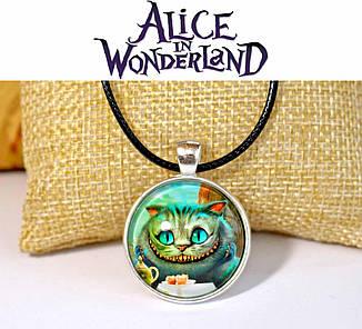 Кулон Чеширский кот Алиса в стране Чудес Alice in a Wonderland