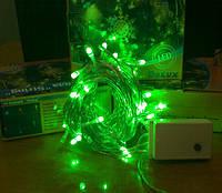 Гирлянда светодиодная DELUX STRING С 50 LED 5m зеленый/ прозрачн. IP20