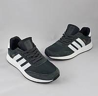 Кроссовки Мужские Adidas Iniki Runner Boost Серые Адидас (размеры: 44)