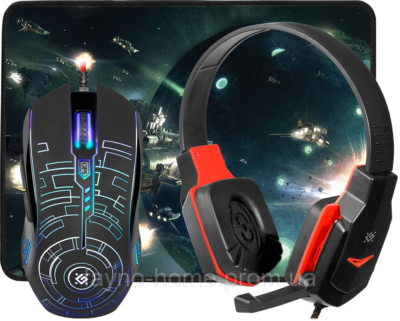 Купить IT набір Defender Fortress MHP-012 (6540673)