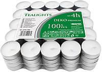 Свечи таблетки чайные 4 часа горения премиум качества BISPOL® 100 шт.