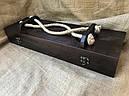 """Подарочный набор для шашлыка """"Царский улов"""" (шампура, рюмки, нож, вилка), в буковом кейсе, фото 8"""