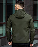 Куртка П*ма софт шелл хаки, фото 4