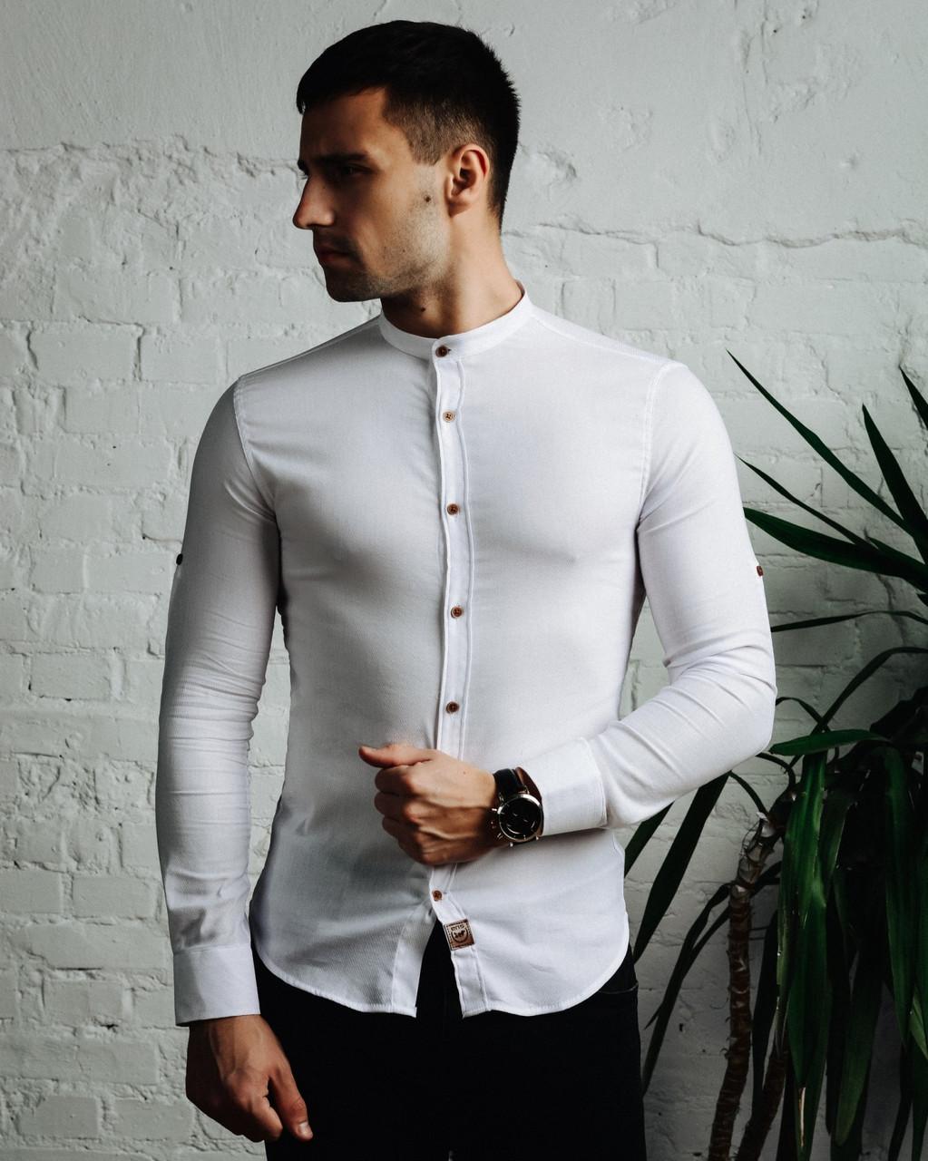 Рубашка Шелби белая