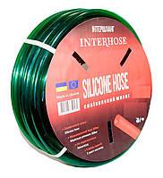 Шланг поливочный Интершланг SILCON HOSE Green 19 мм 50 м, фото 1