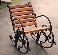 Кресло-качалка кованая 0,5м, фото 1