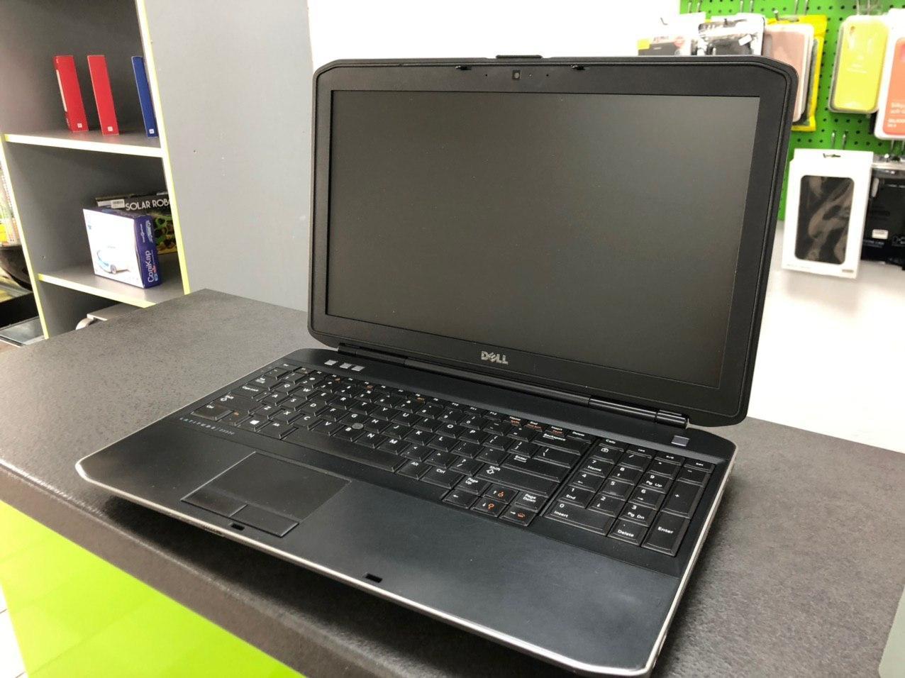 Ноутбук Dell Latitude E5530 | 15,6'' HD (1366*768) | i3-3210M (2.4GHz) | RAM 4Gb | HDD 250Gb