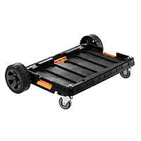 Тележка для инструмента Neo Tools платформа на колесах для модульных систем (84-258)