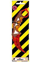 Деревянный нож керамбит из игры Counter Strike Красная паутина, фото 1