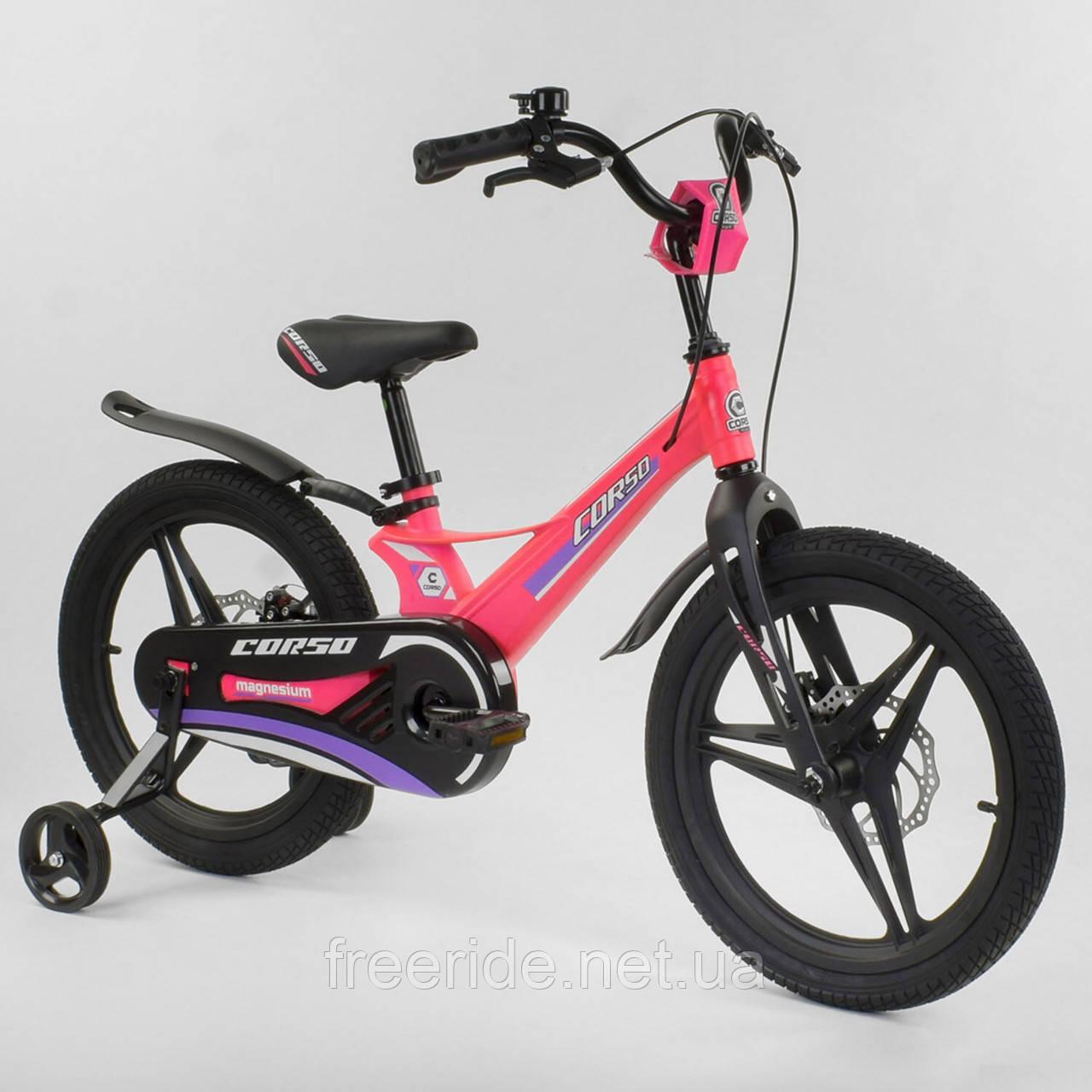 "Детский Велосипед CORSO 18"" MG (литые диски)"