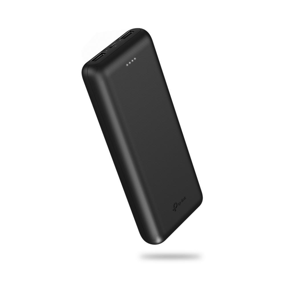 Батарея универсальная TP-Link 20000 mAh, 2*USB 5V/2.1A (TL-PB20000)