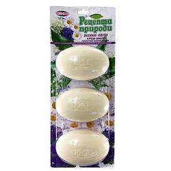 """Мыло туалетное 3 шт. 100 грамм Весенние цветы """"ЮСИ"""""""