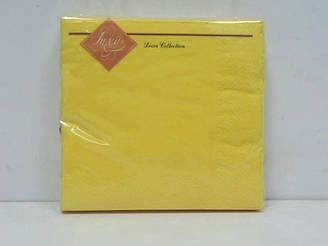 Салфетка (ЗЗхЗЗ, 20шт) Luxy Желтый (3-9) (1 пач)