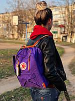 Рюкзак FJALLRAVEN KANKEN 16л RAINBOW | Фиолетовый