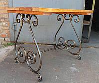 Стол садовый Пикник 1х0,86м (тр.15х15), фото 1