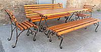 Комплект садовой кованой мебели Пикник 2м, фото 1