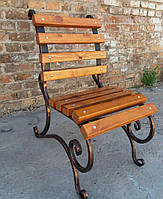 Кованый стул садовый Светлана 0,6м, фото 1