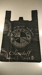 Пакет-майка  38см 60см БМВ Seedoff  черный (100 шт)
