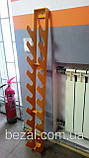 Стійка для фітнес гантелей настінна на 10 шт, фото 5