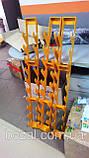 Стійка для фітнес гантелей настінна на 10 шт, фото 6