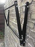 Полиця для зберігання змінних коліс настінна розсувна (глібов 500мм), фото 4