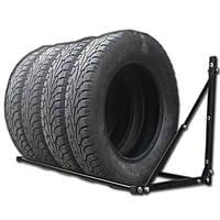 Полка (глуб 600) для хранения сменных колес настенная раздвижная, фото 1