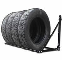 Полка для хранения сменных колес настенная, Складная раздвижная, глуб 60 см, фото 1