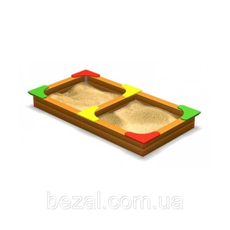 Песочница двойная