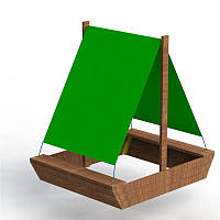 Песочница Кораблик, фото 1