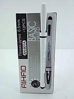 Ручка гелевая черная тм Аihao 801А (12 шт)
