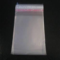Пакеты полипропиленовые 4см 34см 25мк со скотчем (1000 шт)