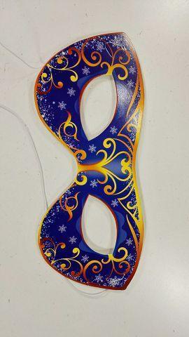 Новогодняя маска (100 шт)