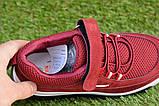 Детские стильные кроссовки Fila фила бордовые р32-37, копия, фото 4