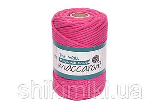 Эко шнур Macrame Cord 5 mm, цвет Малиновый