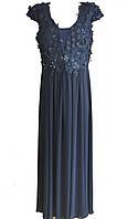 Классическое вечернее платье в пол большого размера, Турция Luxso