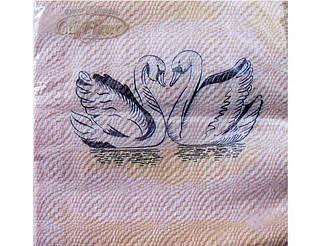 Салфетка (ЗЗхЗЗ, 20шт) La Fleur  Вечная любовь (053) (1 пач)
