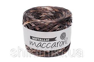 Трикотажная пряжа Maccaroni Hologram Metalliс, цвет Антик