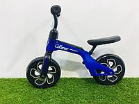 Детский беговел Oplay Balance Bike 10 дюймов синий