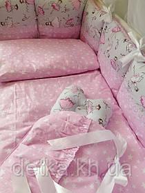 """Комплект """"Comfort"""" в дитяче ліжечко"""