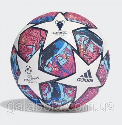 Мяч футбольный Adidas Finale Istanbul Mini FH7348 (размер 1)