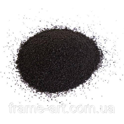 Пісок декоративний 50г чорний