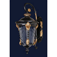Уличный светильник Levistella 760Dj006-M-W Gb+Bk Золотистый с черным (22037)