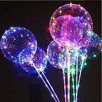 Светящийся воздушный шар на палочке светящийся LED шарик светодиодный LED шар