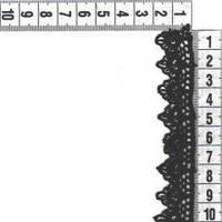 Мереживо 2см чорний 0575-1059 731