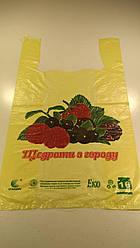 """Пакеты Майка п\э (28*49) """"Эко Ягоды"""" (250 шт)"""